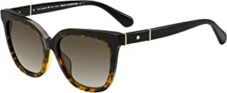 Kate Spade Women's Kahli/s Square Sunglasses BLK HAVAN 53 mm