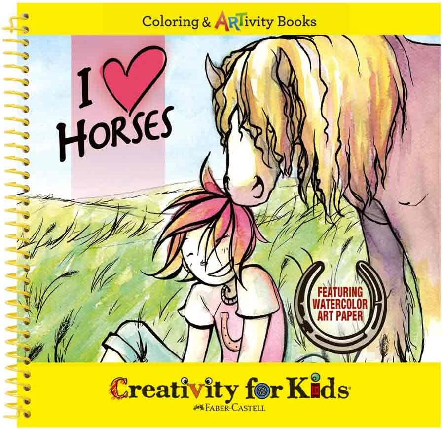 West Max 78% OFF Design Creativity for Kids Junior I Horses A Selection A surprise price is realized Love