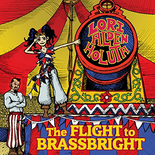 The Flight to Brassbright audiobook cover art