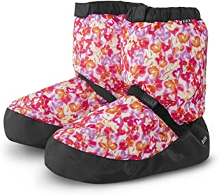 Women's Printed Warm Up Boot Slipper