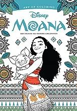 Art of Colouring: Moana: 100 Images to Inspire Creativity