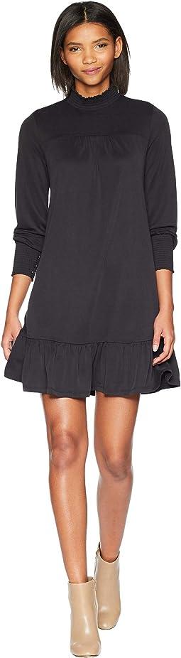 Modal Jersey Dress w/ Button Detail KS0K8284