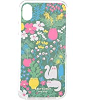 Kate Spade New York - Jeweled Garden Posy Phone Case For iPhone XR