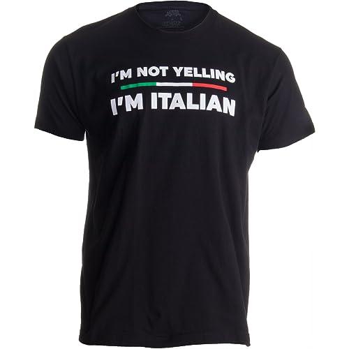 7847aae2 I'm Not Yelling, I'm Italian | Funny Italy Joke Italia Loud