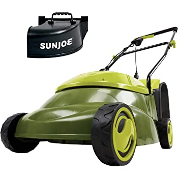 "Sun Joe MJ401E-PRO 14 inch 13 Amp Electric Lawn Mower w/Side Discharge Chute, 14"", Green"