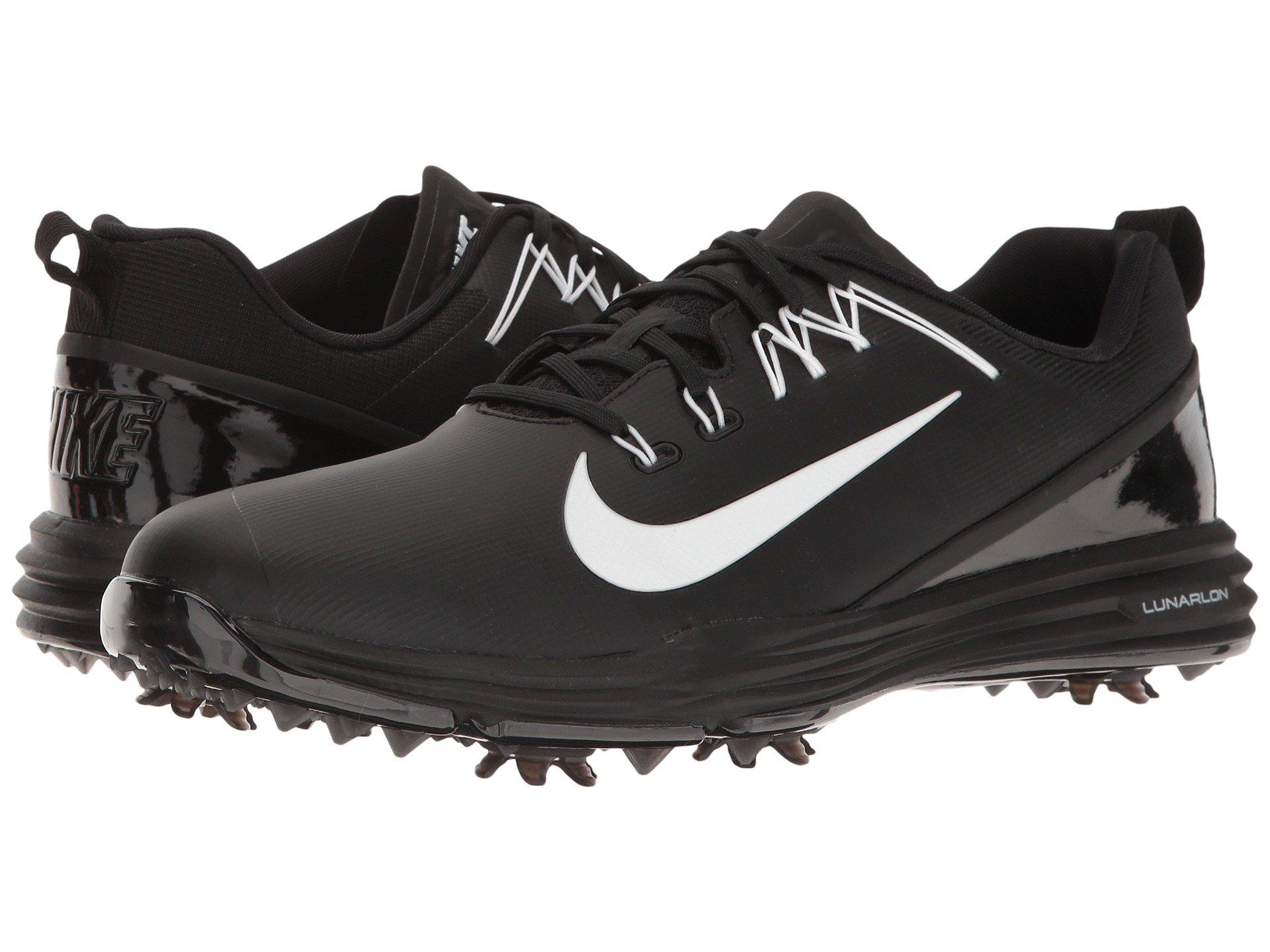 Nike Lunar Command Golf Shoes Dark Grey Volt Size