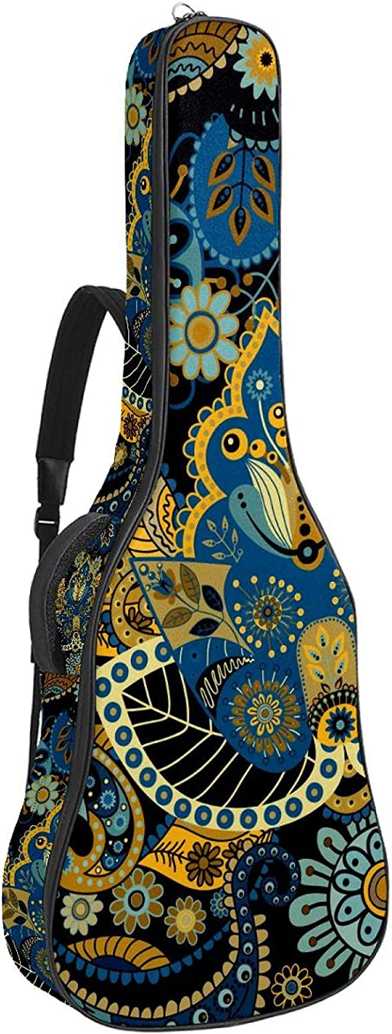 Tucson Mall Superior Electric Guitar Bag Padded Gig Adjustable Sh Acoustic