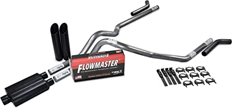 Truck Exhaust Kits - Shop Line Dual Exhaust System 2.5 Stainless Steel Flowmaster Super 44 2.5
