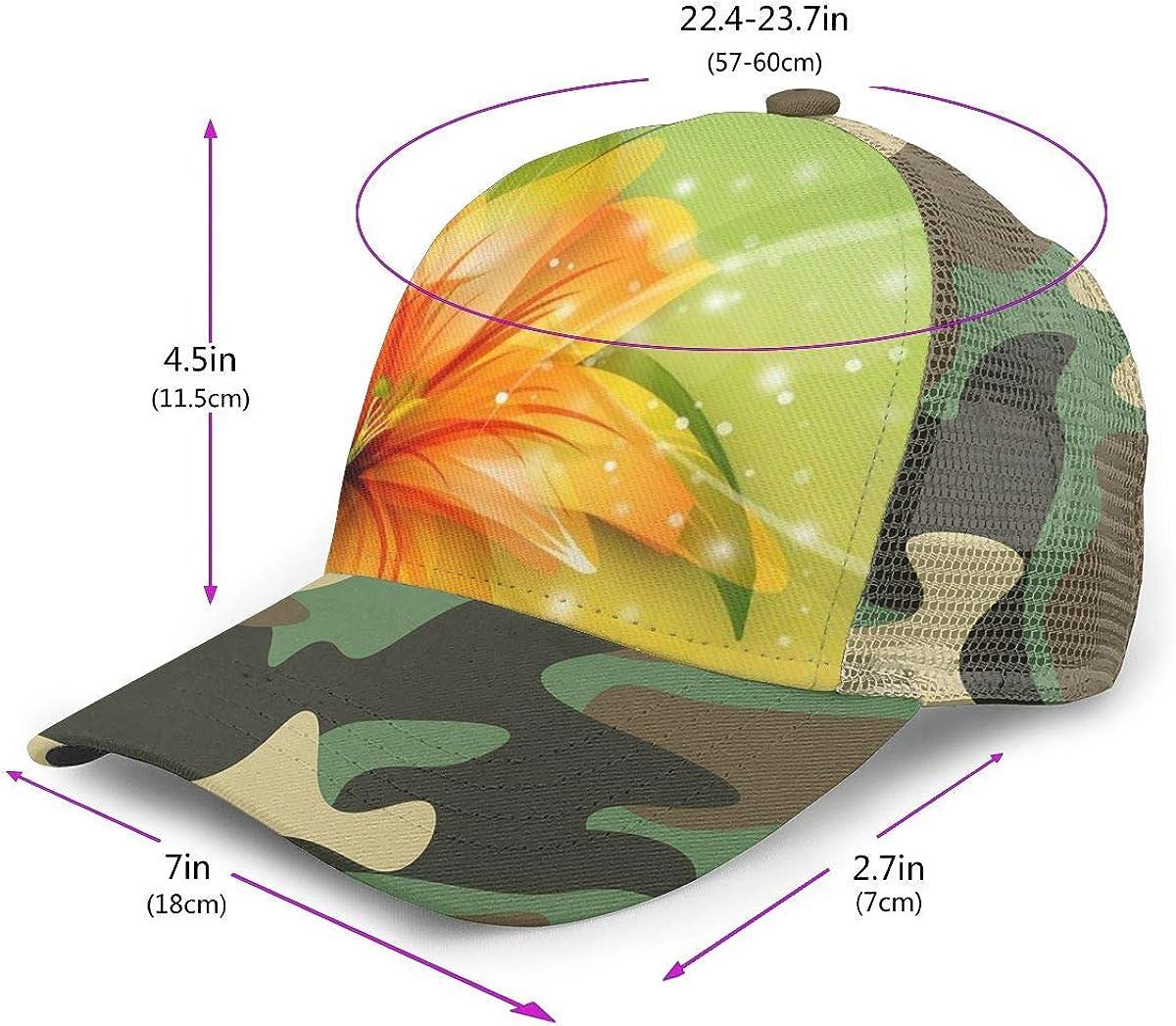 Lily-lNYtzbx Adjustable Baseball Visor Cap,Mesh Hat,Men Women Athletic Hats