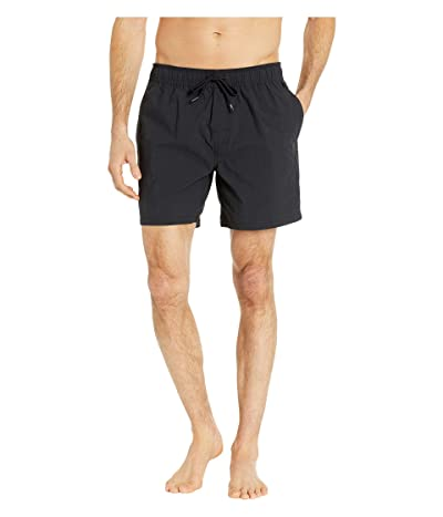 Reyn Spooner Solid Swim Trunks (Stretch Limo) Men