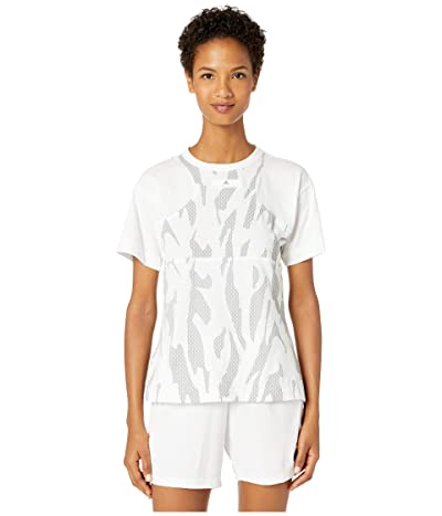 adidas by Stella McCartney Abstract Graphic Tee EA2610 (White) Women