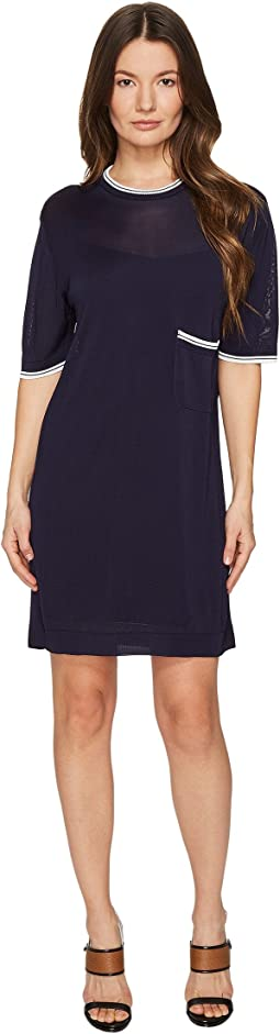 DSQUARED2 - Skin Hibird Short Sleeve Dress