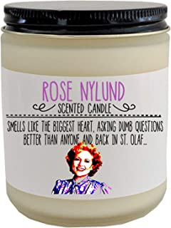 Golden Girls Rose Nylund Scented Candle Golden Girls Gift Funny Gift for Her Birthday Gift