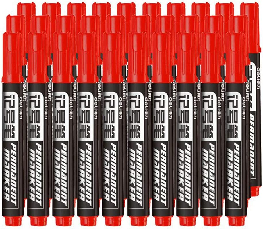 At Milwaukee Mall the price Hbwz Permanent Markers Set of Black - Tip Waterproof Mar Fine