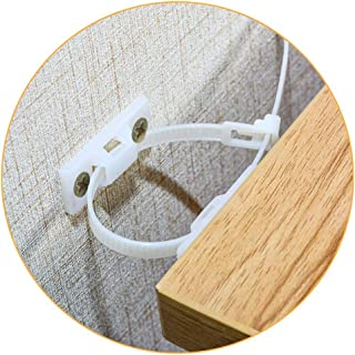 Furniture Straps,(10-Pack) Wall Anchor, Furniture Anchors for Baby Proofing Safety, Anti Tip Furniture Kit, Furniture Wall...