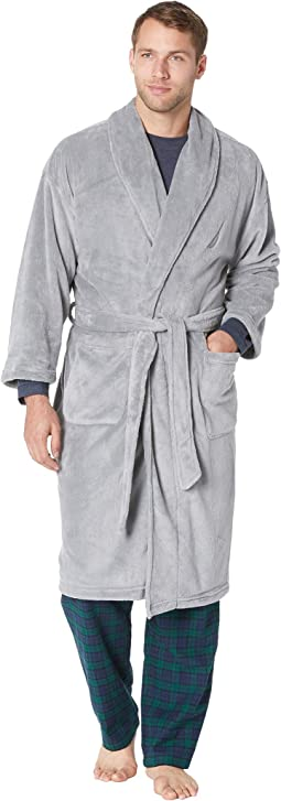 Solid Shawl Robe