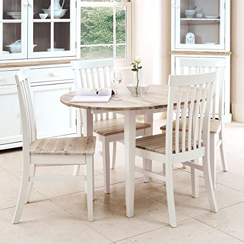 Incredible Round Wooden Dining Table Amazon Co Uk Interior Design Ideas Oxytryabchikinfo