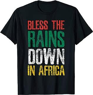 Africa Bless The Rains Down In Africa Farmer Farm Vintage T-Shirt