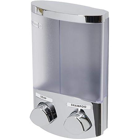Compactor Distributeur de Savon Duo Chromé, 2 x 310 ml, RAN6016