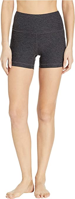 Half Moon High-Waisted Shorts