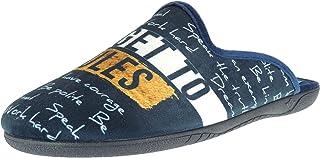gran descuento 322c5 f6532 Amazon.es: tallas grandes hombre - Zapatillas de estar por ...