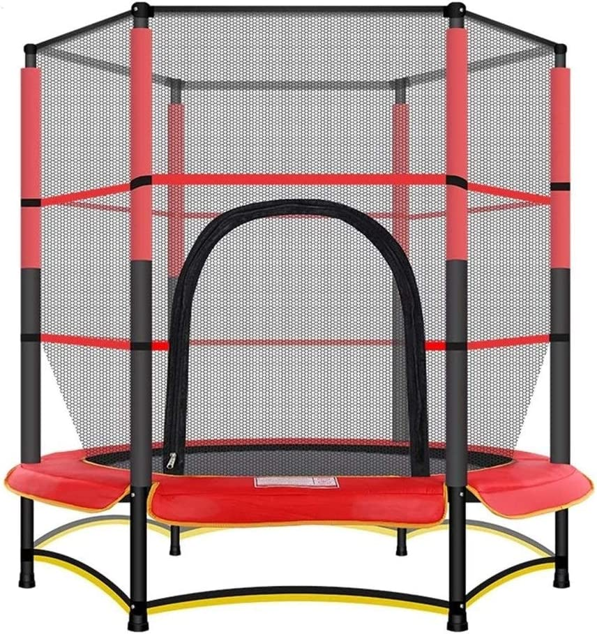 Children's Trampoline trust Fitness Dealing full price reduction with Protective F Elastic Rope Net
