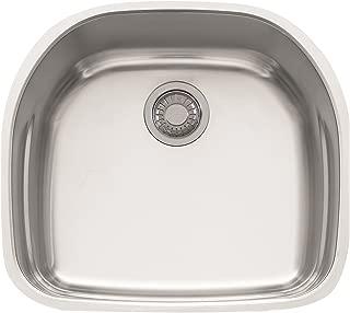 Franke PRX11021 Prestige Plus Single Bowl Undermount Kitchen Sink
