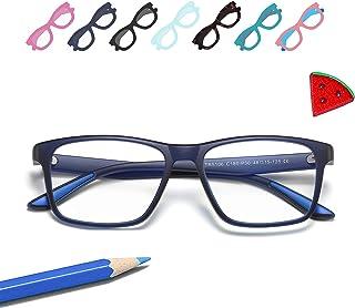 Penbea Kids Blue Light Blocking Glasses - Blue Light Glasses for Kids Girls Boys Age 7-12, Fake Glasses Anti Bluelight Gla...