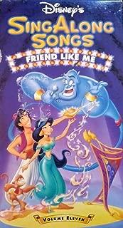 Sing Along Songs: Friend Like Me (Aladdin) VHS