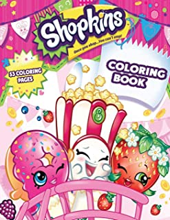 Shopkins Coloring Book: Coloring Book for Kids and Adults, This Amazing Coloring Book Will Make Your Kids Happier and Give Them Joy