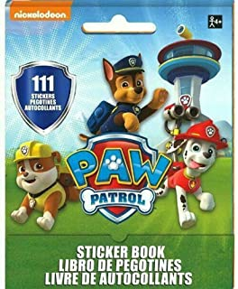 Paw Patrol Sticker Booklet   Party Favor