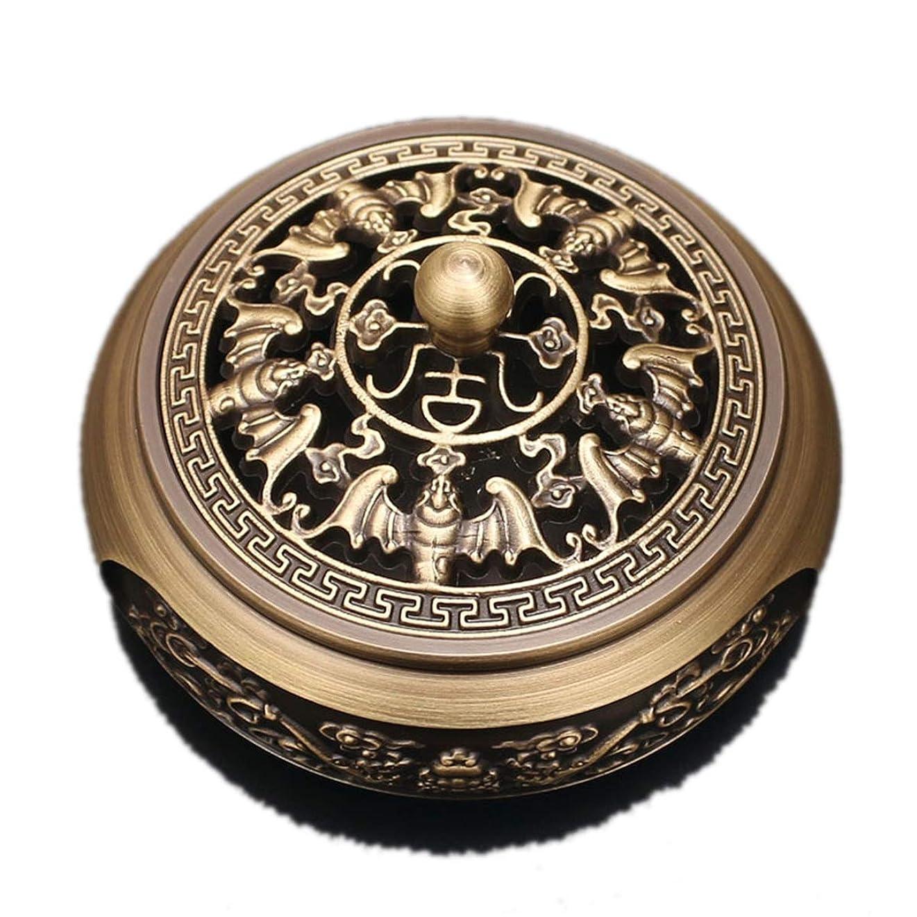 延ばす不一致スマッシュ銅香炉純銅香炉アンティークレリーフ家庭食器香炉