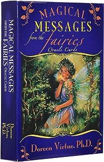44枚/マジックフェアリー女神オラクルカード、将来の運命、カジュアルボードゲームのトランプ英語の占いテーブルカードタロットカード