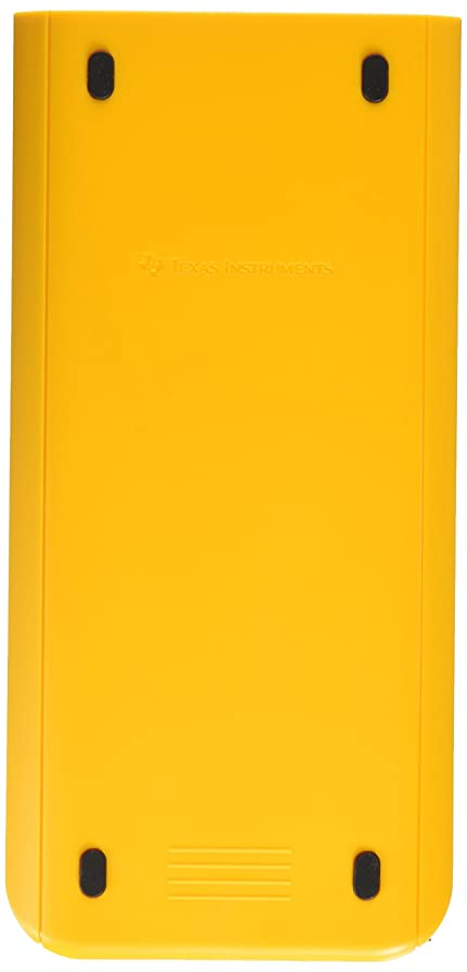 レガシー標高フラフープTI Nspire CX Slide Case Yellow