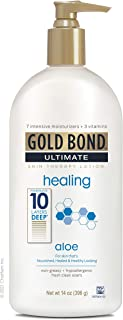 Gold Bond Ultimate Lotion oz, Healing Skin Therapy, Aloe Vera, 14 Ounce