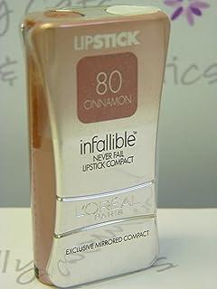 L'Oreal Infallible Never Fail Lipstick LipColour - # 80 - Cinnamon by L'Oreal Paris