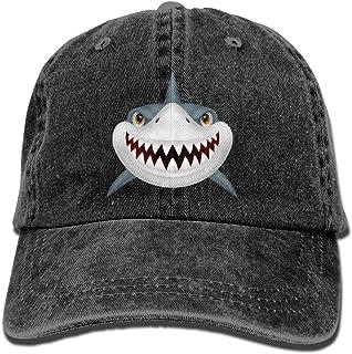 YISHOW Cartoon Summer Shark Funny Crew Socks