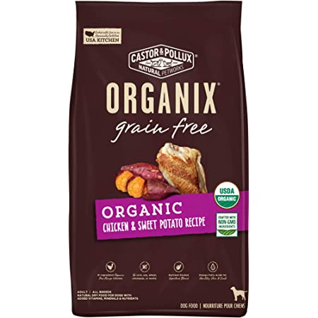 Castor & Pollux Organix Dry Dog Food Organic Chicken Recipe