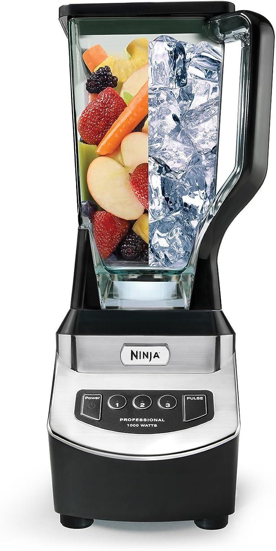 Ninja Professional Blender 1000-watts performance power for blending and processing - NJ600 (Certified Refurbished)