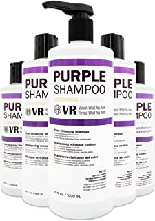 Cocohoney VR Color Enhancing Purple Shampoo for Blonde, Highlighted, Silver and Gray Hair | Neutralizes Yellow and Brassy ...