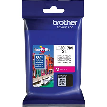 Brother LC3017M High Yield Magenta Ink Cartridge