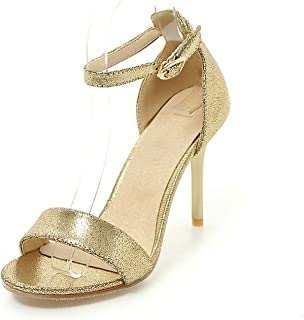 Collocation-Online Big Size Customize Thin High Heels Woman Shoes Sandals Sexy Party Sandal