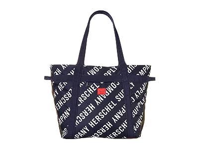 Herschel Supply Co. Alexander Zip (Roll Call Peacoat/Woodland Camo) Tote Handbags