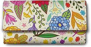 ShopMantra Multicolored Canvas & Leather Women's Wallet (LW00000225)