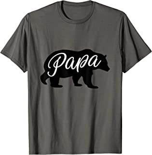 Best Daddy Ever, I Love You Dad, Papa Bear Graphic Design T-Shirt