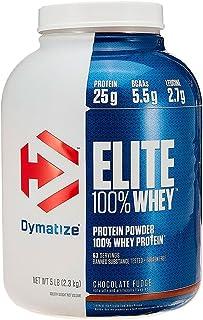 Proteina Suplemento Dymatize Elite 100% Whey Protein 5 Libras Chocolate Fudge