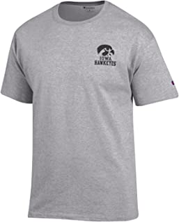Champion NCAA Team Tagless Cotton Short Sleeve Front/Back Graphic Tee