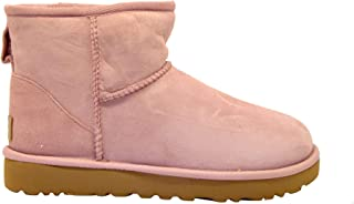 UGG Luxury Fashion Womens MINICLASSICIIPINK Pink Ankle Boots | Fall Winter 19