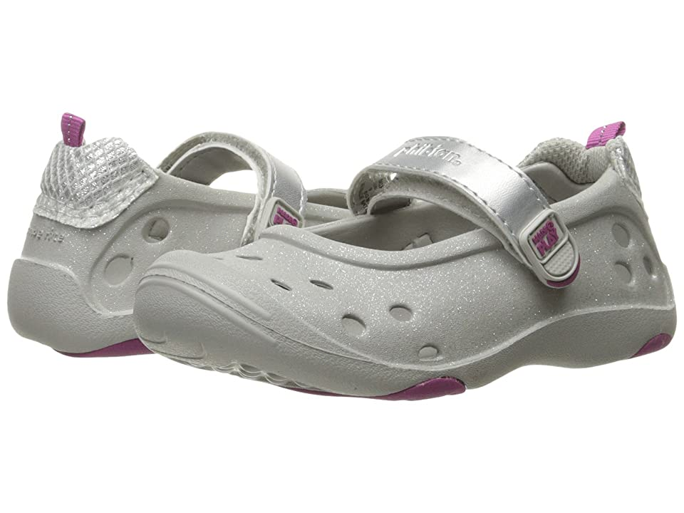 Stride Rite Made 2 Play Phibian MJ (Toddler/Little Kid) (Silver Glitter) Girl