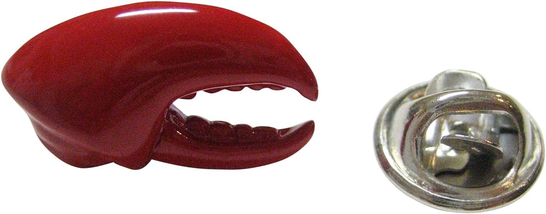 Kiola Designs Red Lobster Claw Lapel Pin